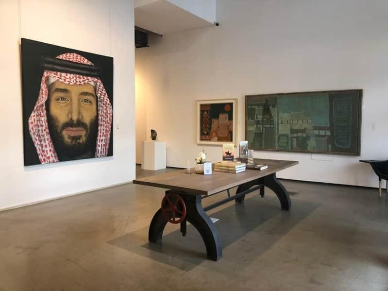 الأميرة مضاوي تدشن معرض الفن بالوطن بمشاركة 50 فنانًا