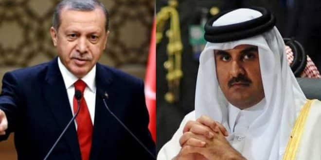 مكالمة الشر بين تميم وأردوغان والهدف إشعال المنطقة!