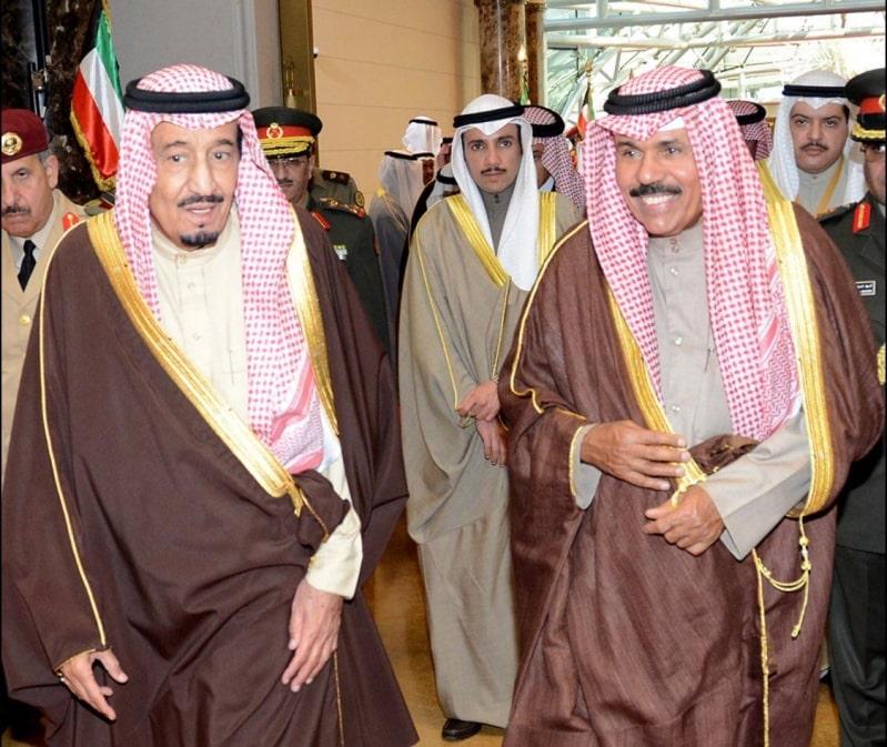 الملك سلمان في برقية لـ أمير الكويت:  تربطنا أواصر راسخة من العلاقات الثنائية المتميزة ومصير واحد