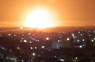 فيديو.. انفجار في مدينة الزرقاء الأردنية - المواطن