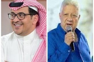 محمد القاسم رئيس التعاون ومرتضى منصور