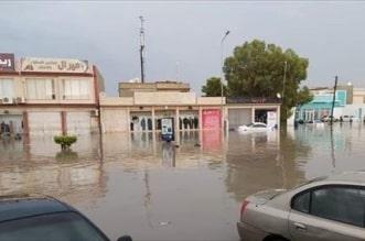 شاهد.. الأمطار الغزيرة تغرق مدينة مصراته غرب ليبيا - المواطن