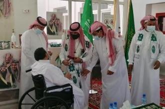 ذوو الإعاقة والأيتام والمسنون بالرياض يشاركون في اليوم الوطني - المواطن