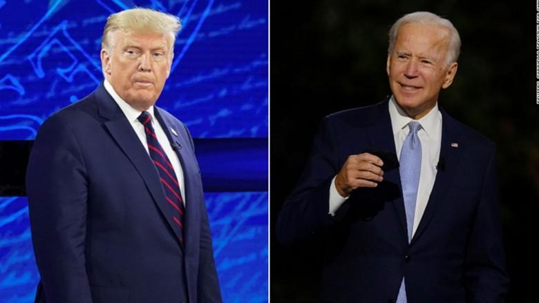 أبرز 5 اختلافات بين حواري دونالد ترامب وجو بايدن