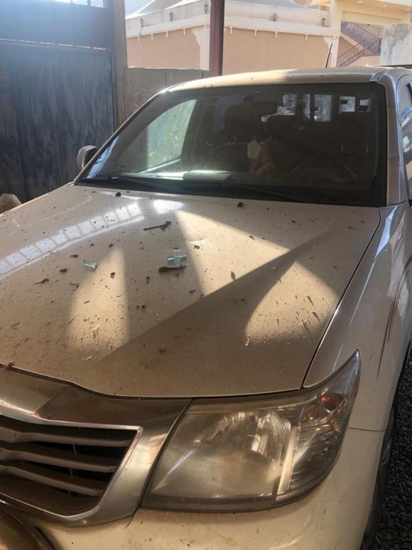 إصابة مواطن وتضرر 5 منازل إثر سقوط شظايا مسيرة حوثية في سراة عبيدة 3