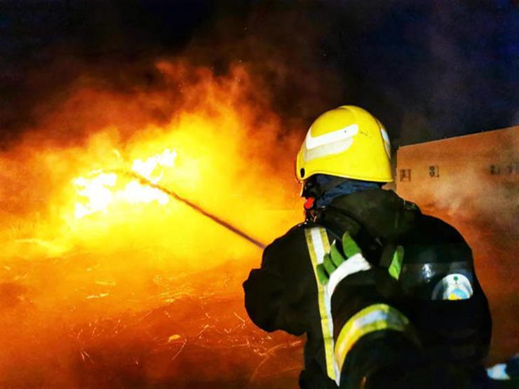 إصابة أحد المتطوعين في إخماد حريق جبل غلامة بتنومة