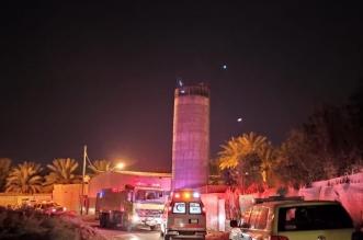 إنقاذ شخص سقط داخل مجمع للمياه ارتفاعه 15 مترًا في الدلم - المواطن