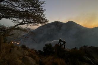 طائرات تابعة لـ أرامكو تشارك في إطفاء حريق تنومة غدًا - المواطن