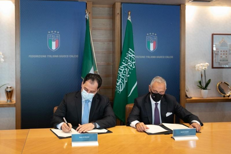 اتفاقية تعاون بين الاتحاد السعودي ونظيره الإيطالي