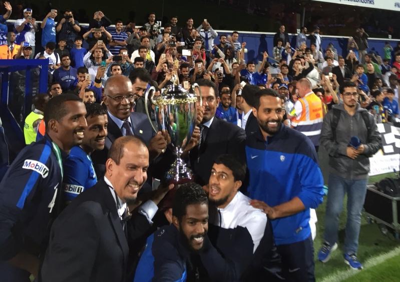 الهلال والنصر في كأس السوبر السعودي 2015