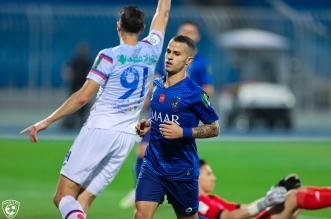 جيوفينكو في مباراة الهلال ضد أبها