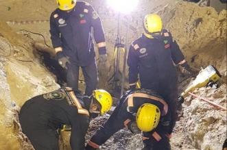 انتشال جثة مقيم من تحت أنقاض مواقف مجمع السعيد بـ الخبر - المواطن