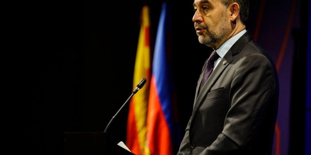 قطع الإنترنت عن برشلونة بعد اعتقال رئيس النادي السابق