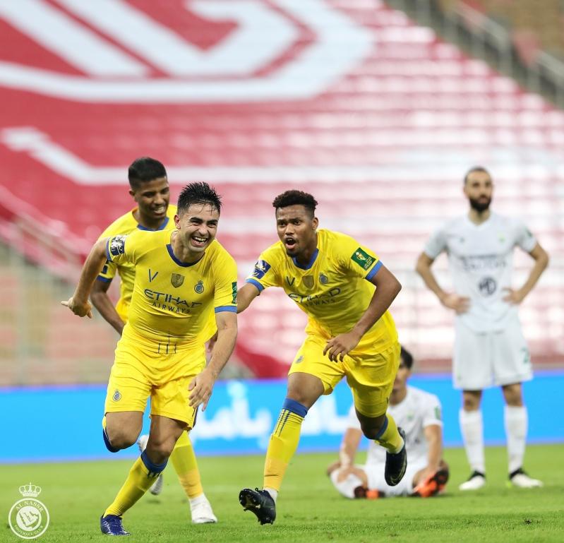 مارتينيز مع نادي النصر