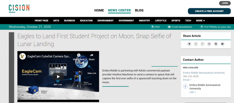 جنى العصلاني.. طالبة سعودية تشارك في أول مشروع طلابي على القمر