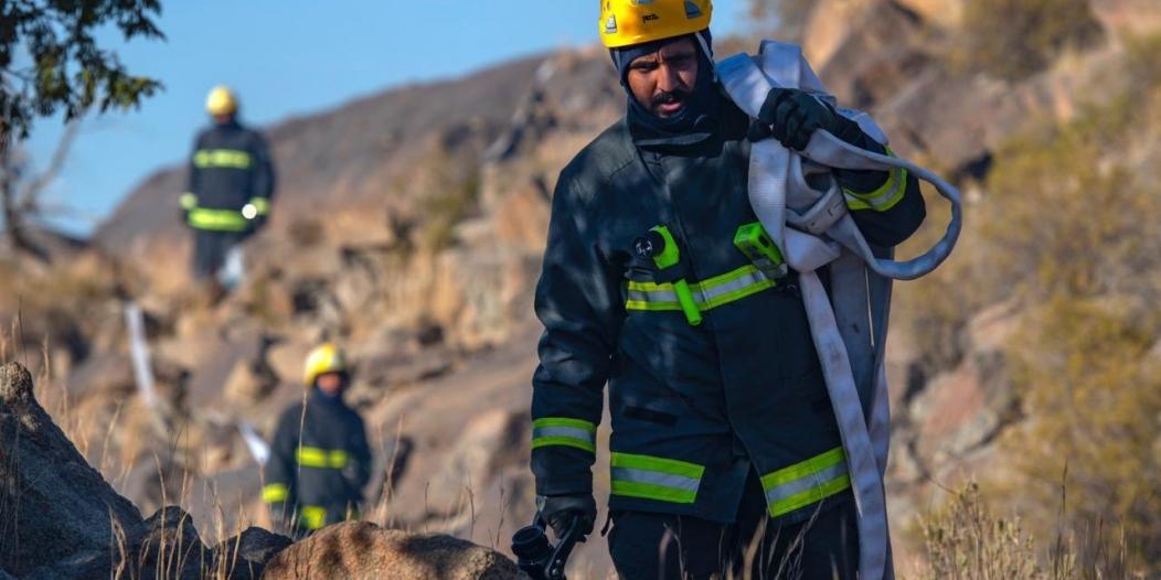 فيديو.. الدفاع المدني يباشر 92 ألف حريق وعملية إنقاذ خلال عام