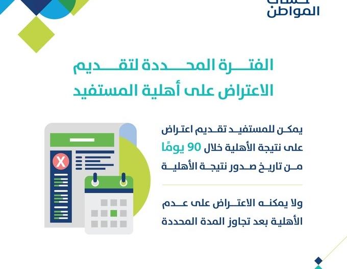 طريقة تقديم الاعتراض على مبلغ حساب المواطن