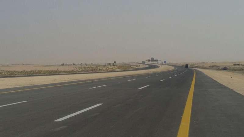 فتح تقاطع إصلاحية الدمام على طريق الدمام – الرياض السريع
