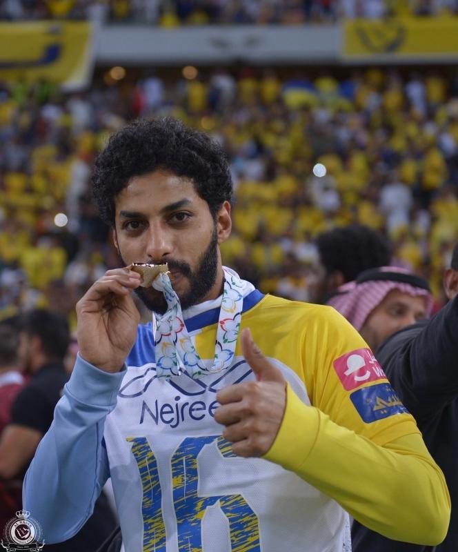 عبدالعزيز الجبرين مع نادي النصر