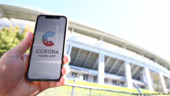 تطبيق جديد على الهاتف للكشف عن مصابي كورونا