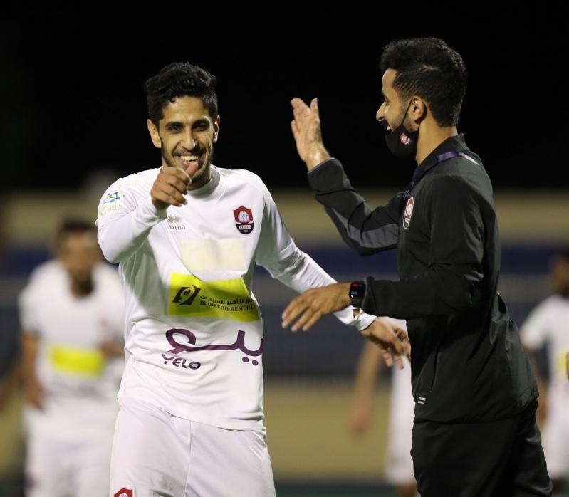 لاعب الرائد محمد السهلي