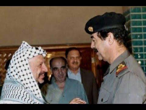لقاء العار بين صدام وأبو عمار قبل 30 عامًا