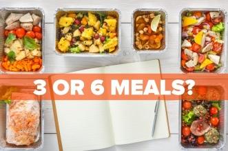 ما هو عدد الوجبات الأفضل في النظام الغذائي 3 أم 6؟ (1)