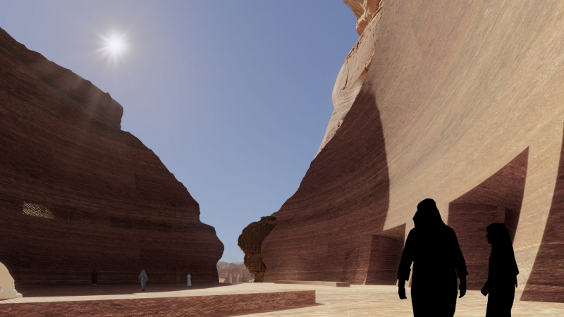 فيديو وصور.. منتجع شرعان إبداع مدهش في صحراء العلا - المواطن