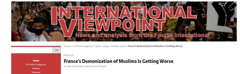 منظمة إنجليزية شيطنة فرنسا للمسلمين تزداد سوءًا