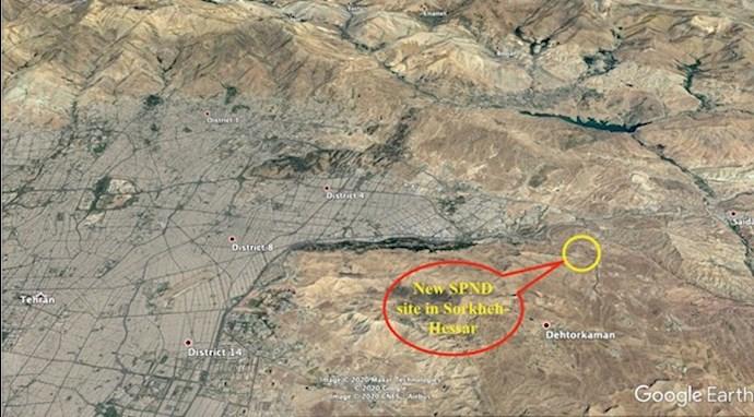واشنطن إكزامينر إيران تستخدم موقعًا خفيًا للبرنامج نووي