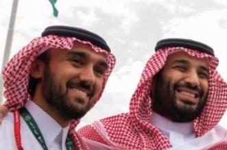 ولي العهد محمد بن سلمان ووزير الرياضة