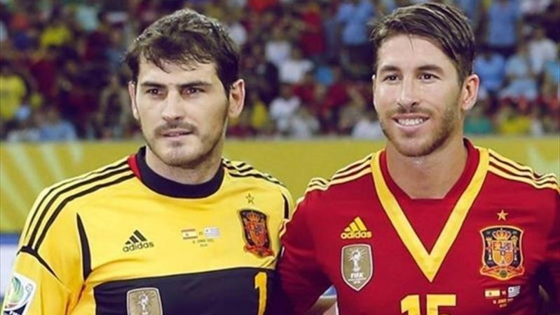 راموس يُحطم رقم كاسياس مع منتخب إسبانيا