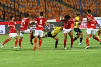 مباراة الأهلي المصري والمقاولون