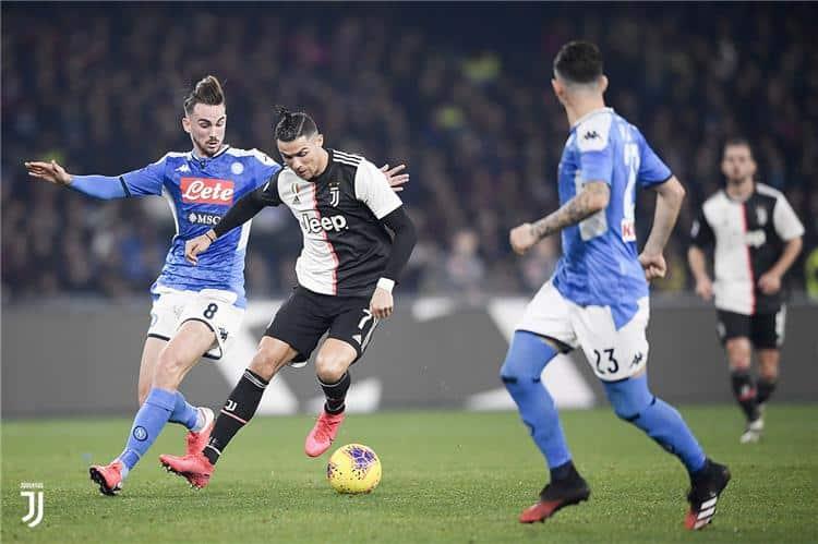 رابطة الدوري الإيطالي تحسم مصير مباراة يوفنتوس ضد نابولي