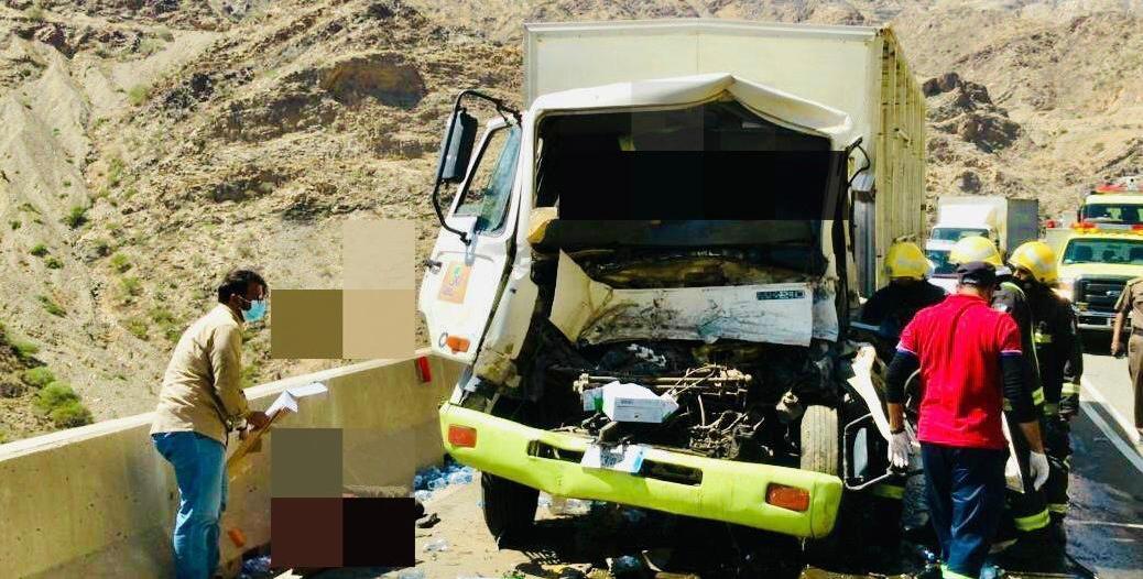 إصابتان خطيرتان بحادث في عقبة الملك فهد بالباحة