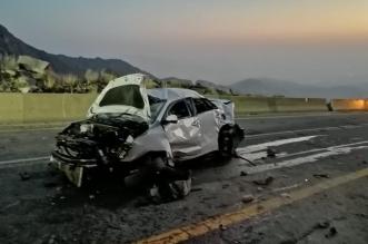 5 إصابات في حادث انقلاب مركبة في منتصف عقبة حزنة بالباحة - المواطن