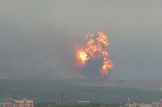 فيديو.. روسيا تُخلي 10 قرى بعد انفجارات مستودع للذخيرة - المواطن