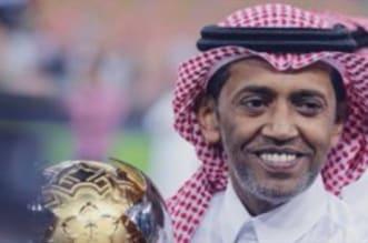 عبدالعزيز بغلف عضو شرف النصر