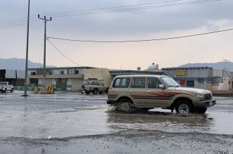 أجواء لطيفة جنوب بارق بعد أمطار متوسطة - المواطن
