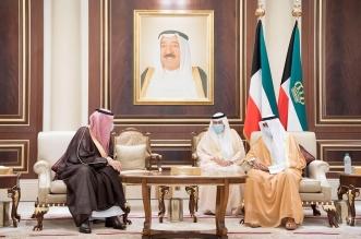 أمير الكويت يستقبل الأمراء المعزين في وفاة الشيخ صباح الأحمد - المواطن