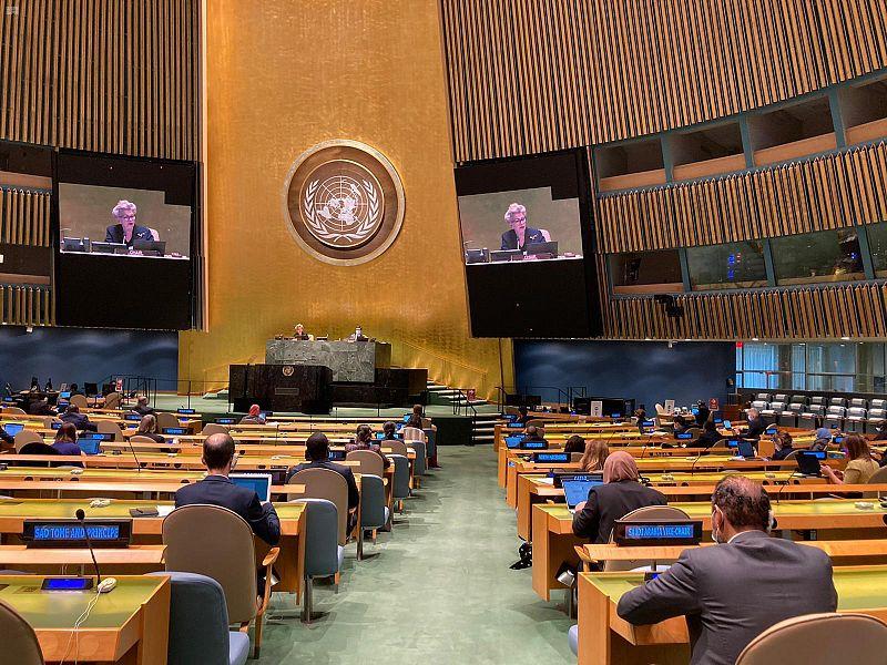 193 دولة بالأمم المتحدة تنتخب مرشح المملكة نائبًا لرئيس اللجنة الثالثة