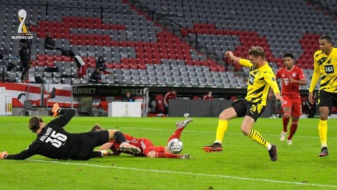 مباراة البايرن ضد دورتموند