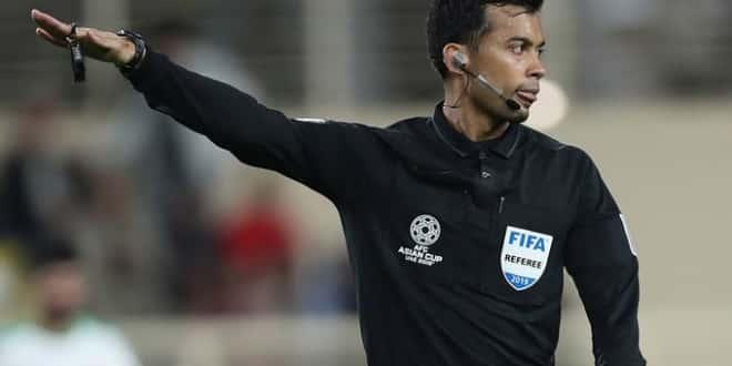 صورة هوية حكم مباراة النصر وبيرسبوليس