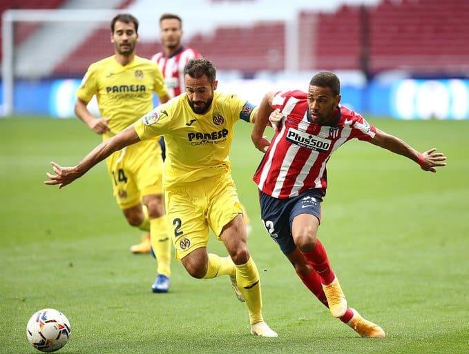 التعادل السلبي يحسم مباراة أتلتيكو مدريد ضد فياريال