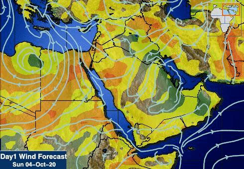 المسند: سحب ممطرة على 5 مناطق وطريف الأقل حرارة