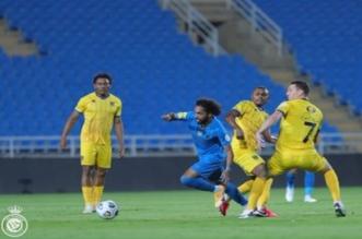 مباراة نادي النصر والتعاون