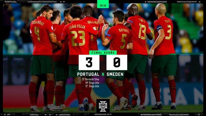 البرتغال ضد السويد