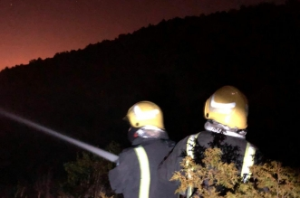شاهد.. السيطرة على حريق السودة والأمانة تشارك بآلياتها - المواطن