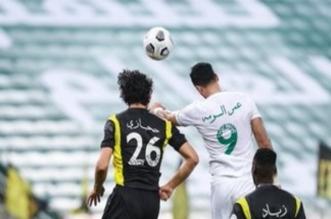 عمر السومة في مباراة الاتحاد