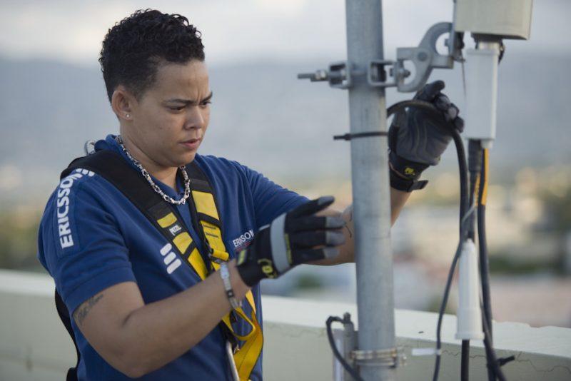 إريكسون تشارك في تطوير شبكة 5G في السعودية